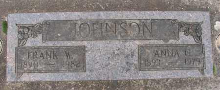 JOHNSON, ANNA O - Marion County, Oregon | ANNA O JOHNSON - Oregon Gravestone Photos