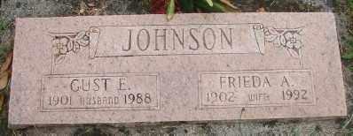 JOHNSON, FRIEDA A - Marion County, Oregon | FRIEDA A JOHNSON - Oregon Gravestone Photos
