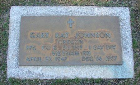JOHNSON, GARY RAY - Marion County, Oregon | GARY RAY JOHNSON - Oregon Gravestone Photos