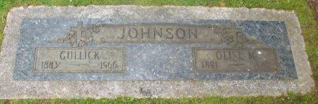 JOHNSON, OLISE M - Marion County, Oregon | OLISE M JOHNSON - Oregon Gravestone Photos