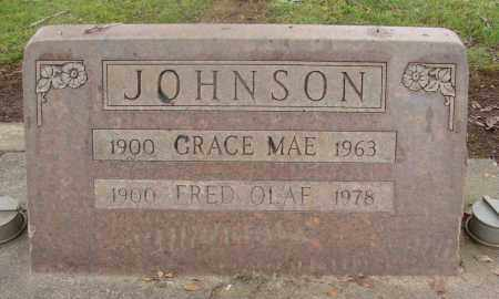 JOHNSON, FRED OLAF - Marion County, Oregon | FRED OLAF JOHNSON - Oregon Gravestone Photos