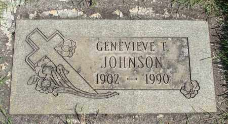 JOHNSON, GENEVIEVE T - Marion County, Oregon   GENEVIEVE T JOHNSON - Oregon Gravestone Photos