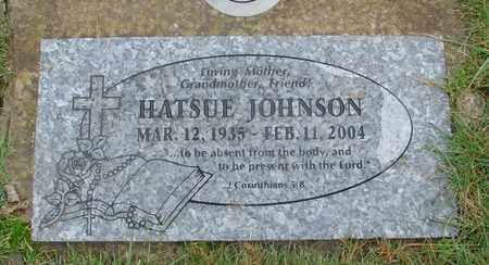 JOHNSON, HATSUE - Marion County, Oregon | HATSUE JOHNSON - Oregon Gravestone Photos