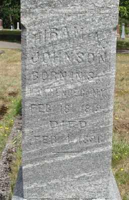JOHNSON, HIRAM ALVA - Marion County, Oregon | HIRAM ALVA JOHNSON - Oregon Gravestone Photos