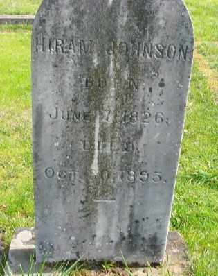 JOHNSON, HIRAM - Marion County, Oregon | HIRAM JOHNSON - Oregon Gravestone Photos