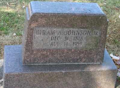 JOHNSON, HIRAM ALVAH, JR - Marion County, Oregon | HIRAM ALVAH, JR JOHNSON - Oregon Gravestone Photos