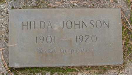 JOHNSON, HILDA - Marion County, Oregon | HILDA JOHNSON - Oregon Gravestone Photos