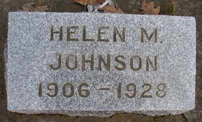 JOHNSON, HELEN M - Marion County, Oregon | HELEN M JOHNSON - Oregon Gravestone Photos