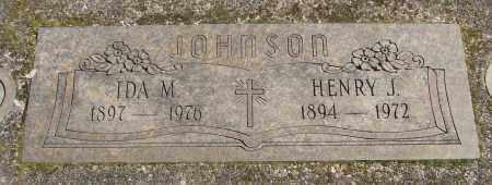 JOHNSON, IDA M - Marion County, Oregon | IDA M JOHNSON - Oregon Gravestone Photos