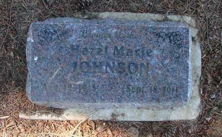 JOHNSON, HAZEL MARIE - Marion County, Oregon   HAZEL MARIE JOHNSON - Oregon Gravestone Photos