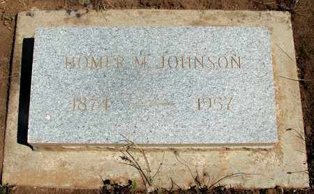 JOHNSON, HOMER MELVILLE - Marion County, Oregon | HOMER MELVILLE JOHNSON - Oregon Gravestone Photos