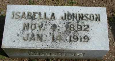 JOHNSON, ISABELLE - Marion County, Oregon | ISABELLE JOHNSON - Oregon Gravestone Photos