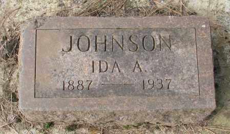 JOHNSON, IDA A - Marion County, Oregon | IDA A JOHNSON - Oregon Gravestone Photos