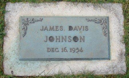 JOHNSON, JAMES DAVIS - Marion County, Oregon | JAMES DAVIS JOHNSON - Oregon Gravestone Photos