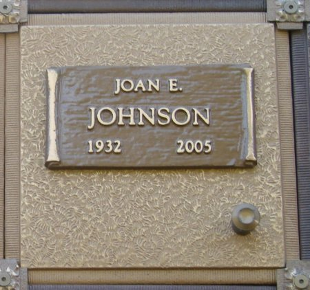 JOHNSON, JOAN EDITH - Marion County, Oregon | JOAN EDITH JOHNSON - Oregon Gravestone Photos
