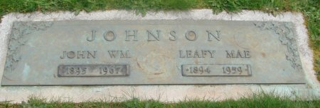 JOHNSON, JOHN WILLIAM - Marion County, Oregon | JOHN WILLIAM JOHNSON - Oregon Gravestone Photos