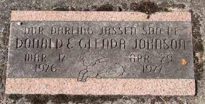 JOHNSON, JASSEN - Marion County, Oregon | JASSEN JOHNSON - Oregon Gravestone Photos