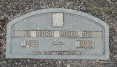 JOHNSON, J BURR - Marion County, Oregon | J BURR JOHNSON - Oregon Gravestone Photos