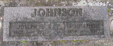 JOHNSON, O JOSEPHINE - Marion County, Oregon | O JOSEPHINE JOHNSON - Oregon Gravestone Photos