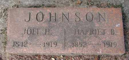 JOHNSON, HARRIET B - Marion County, Oregon | HARRIET B JOHNSON - Oregon Gravestone Photos