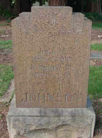 JOHNSON, HARRIET B - Marion County, Oregon | HARRIET B JOHNSON - Oregon Gravestone Photos