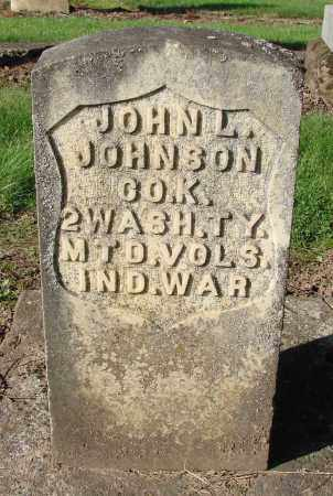 JOHNSON, JOHN LAWRENCE - Marion County, Oregon | JOHN LAWRENCE JOHNSON - Oregon Gravestone Photos