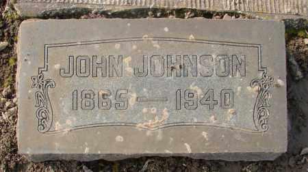 JOHNSON, JOHN - Marion County, Oregon | JOHN JOHNSON - Oregon Gravestone Photos