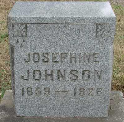 JOHNSON, JOSEPHINE - Marion County, Oregon | JOSEPHINE JOHNSON - Oregon Gravestone Photos
