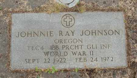 JOHNSON, JOHNNIE RAY - Marion County, Oregon | JOHNNIE RAY JOHNSON - Oregon Gravestone Photos