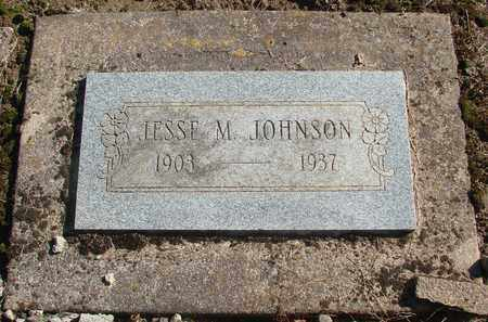 JOHNSON, JESSE M - Marion County, Oregon | JESSE M JOHNSON - Oregon Gravestone Photos