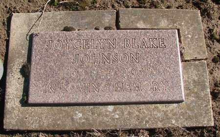 JOHNSON, JOYCELYN - Marion County, Oregon | JOYCELYN JOHNSON - Oregon Gravestone Photos