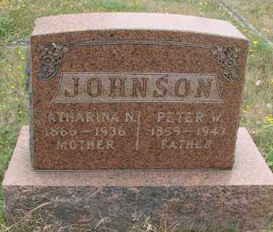 JOHNSON, KATHARINA - Marion County, Oregon | KATHARINA JOHNSON - Oregon Gravestone Photos