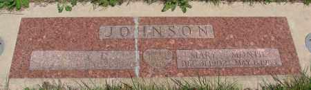 JOHNSON, KERBY E - Marion County, Oregon | KERBY E JOHNSON - Oregon Gravestone Photos