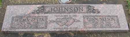 JOHNSON, WILMA ZETTA - Marion County, Oregon | WILMA ZETTA JOHNSON - Oregon Gravestone Photos