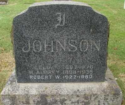 JOHNSON, LELIA - Marion County, Oregon | LELIA JOHNSON - Oregon Gravestone Photos