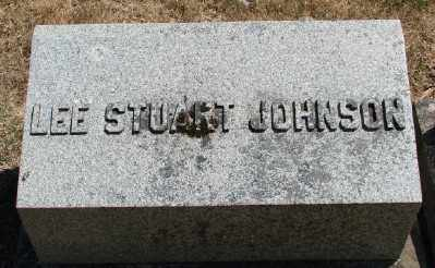 JOHNSON, LEE STUART - Marion County, Oregon | LEE STUART JOHNSON - Oregon Gravestone Photos