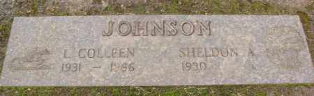 JOHNSON, SHELDON A - Marion County, Oregon | SHELDON A JOHNSON - Oregon Gravestone Photos