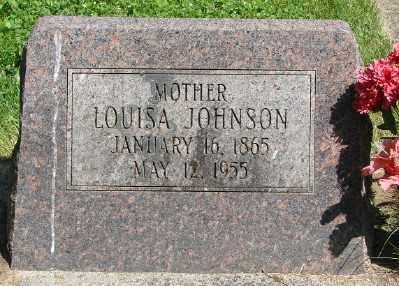 JOHNSON, LOUISA - Marion County, Oregon | LOUISA JOHNSON - Oregon Gravestone Photos
