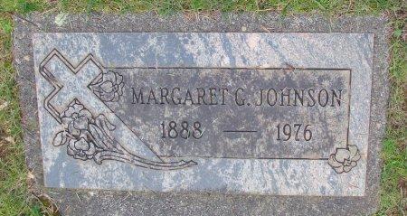JOHNSON, MARGARET G - Marion County, Oregon   MARGARET G JOHNSON - Oregon Gravestone Photos