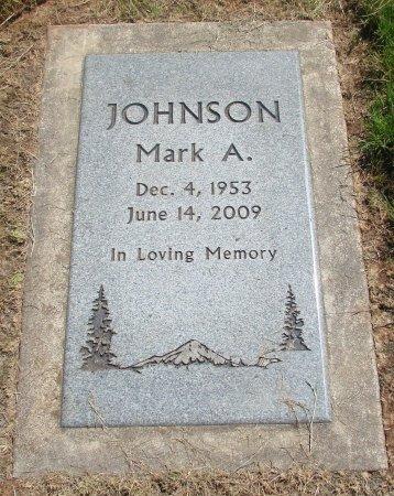 JOHNSON, MARK ALLEN - Marion County, Oregon | MARK ALLEN JOHNSON - Oregon Gravestone Photos
