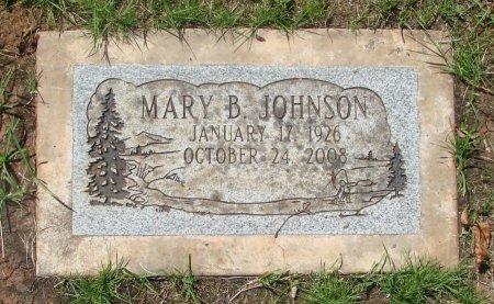 JOHNSON, MARY B - Marion County, Oregon | MARY B JOHNSON - Oregon Gravestone Photos