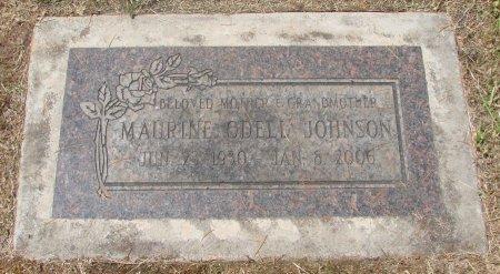 JOHNSON, MAURINE ODELL - Marion County, Oregon | MAURINE ODELL JOHNSON - Oregon Gravestone Photos