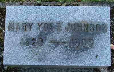 JOHNSON, MARY - Marion County, Oregon | MARY JOHNSON - Oregon Gravestone Photos