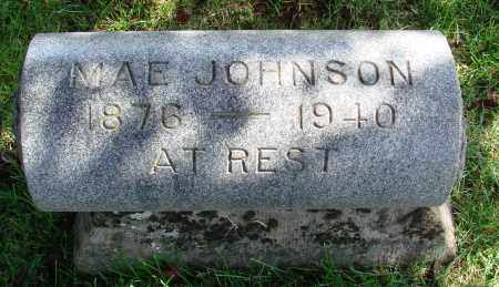 JOHNSON, MAE - Marion County, Oregon | MAE JOHNSON - Oregon Gravestone Photos