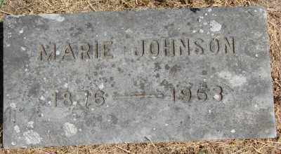 JOHNSON, MARIE - Marion County, Oregon | MARIE JOHNSON - Oregon Gravestone Photos
