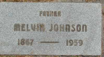 JOHNSON, MELVIN - Marion County, Oregon   MELVIN JOHNSON - Oregon Gravestone Photos