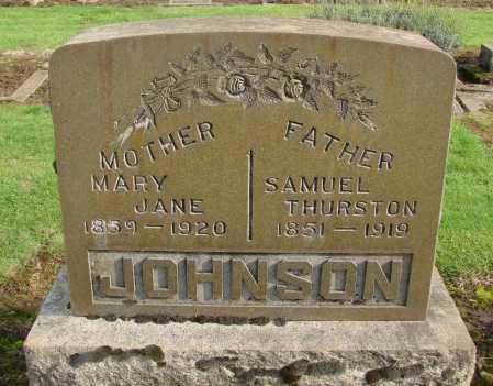 JOHNSON, MARY JANE - Marion County, Oregon | MARY JANE JOHNSON - Oregon Gravestone Photos