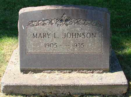 JOHNSON, MARY L - Marion County, Oregon | MARY L JOHNSON - Oregon Gravestone Photos