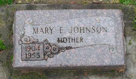 JOHNSON, MARY ELIZABETH - Marion County, Oregon   MARY ELIZABETH JOHNSON - Oregon Gravestone Photos