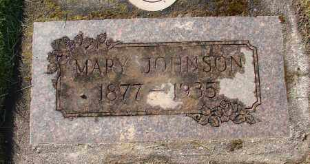 JOHNSON, MARY - Marion County, Oregon | MARY JOHNSON - Oregon Gravestone Photos